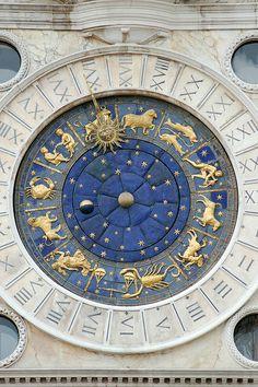 St Mark's Clock, San Marco, Venice