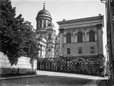 Helsingin Tuomiokirkko. Foto: Signe Brander, 1907.