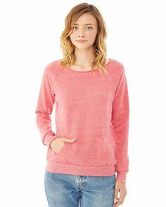New eco brand @Souplesse Oblige: Alternative Apparel maniac sport sweatshirt eco-fuchsia