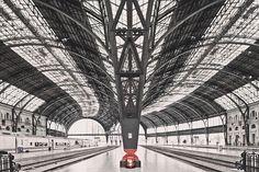 Train Station Barcelona - Franck Bohbot