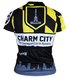 06339e7374a Hill Killer Baltimore Retro Women s Cycling Jersey - Back View. Save with  FAST - Free SHIPPING from CycleGarb.com