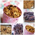 homemade granola recipe with raisins