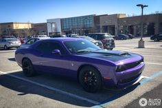 Dodge Challenger SRT Hellcat in Leawood (KS), United States of America Spotted on by OPspotters My Dream Car, Dream Cars, Safe Driving Tips, Srt Demon, Dodge Challenger Srt Hellcat, Import Cars, Vroom Vroom, Hot Cars, Mopar