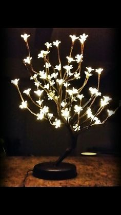 Wedding centerpiece led tree