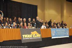 www.kungfuchampionship.com Master Nick Scrima makes opening announcements