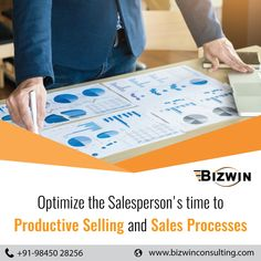 Only half of a salesperson's time is spent actually selling and interacting with client. The rest of it is spent on tasks such as data entry and reporting. Bizwin helps in optimizing the sales processes and time. Team Motivation, Sales Process, Data Entry, Marketing Consultant, Rest, Business, Data Feed, Business Illustration