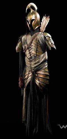 Costume design. Armor design. Archer elf idea clothes.