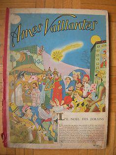 Livre Ancien Enfant : Ames Vaillantes : Recueuil N° 42 Au N° 53 1956 - Fleurus