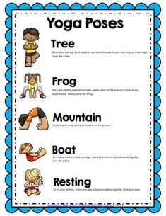 We made this little freebie because we decided to do a little yoga to transition our kiddos into learning mode after lunch recess. With state test coming this would be great to implement in your classroom to help you students relax before and after the test.