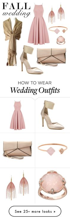 """""""Blushing Guest"""" by briannaduffin on Polyvore featuring Chi Chi, Mellow World, Serefina, Michael Kors, Lavish by TJM and fallwedding"""