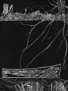 Harry Clarke's illustrations for Edgar Allan Poe's Tales of Mystery and Imagination, 1919