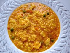 Arroz Risotto, Toddler Meals, Toddler Food, Paella, Crockpot, Dinner Recipes, Ethnic Recipes, Mexicans, Robot