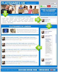 Find a flatshare at Flatshares UK - making flat sharing as simple! get the latest flatshares sent to your Facebook newsfeed as soon as they are listed!