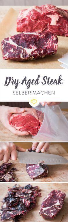 Du isst gerne Dry Aged Fleisch? Dann probiere doch mal bei dir zu Hause trockenzureifen. Echtes Dry Age aus deinem Kühlschrank. Alle Infos in diesem Guide.