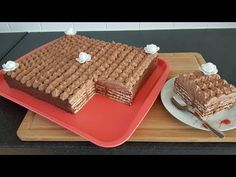 Prajitura Dobos (fara coacere) - YouTube Choux Pastry, Waffles, Deserts, Bread, Make It Yourself, Breakfast, Recipes, Youtube, Food