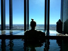 Madrid Must Do's - Spa 30 floors up! EuroStars Hotel Madrid