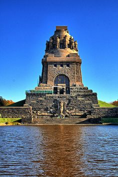 Voelkerschlachtdenkmal Leipzig~Germany - Explore the World with Travel Nerd Nici, one Country at a Time. http://TravelNerdNici.com