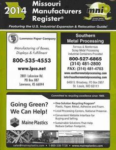 Missouri Manufacturers Register 2014