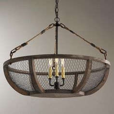 Beautiful Chicken Wire Chandelier Chicken Wire Basket Chandelier Wire Baskets Chicken Wire And - Regarding home decor goes, light fixtures are just one of Wire Basket Chandelier, Chandelier Picture, Chandelier For Sale, Kitchen Chandelier, Ceiling Chandelier, Chandelier Shades, Chandelier Ideas, Kitchen Lighting, Chandelier Bedroom