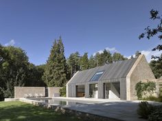 Michaelis Boyd Associates —Gloucestershire Pool House and Stables