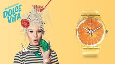SWATCH Swiss watch brand / advertising campaign