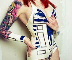 Star Wars R2-D2 Latex Bodysuit