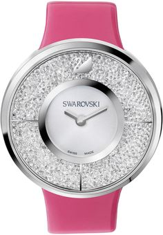 Swarovski Crystalline Watch Set With Interchangeable Straps 5096698