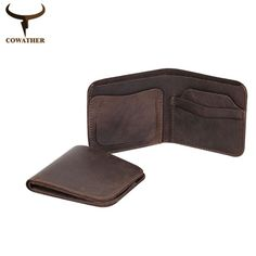Vintage cross style cow genuine leather wallets //Price: $25.25 & FREE Shipping //   #manaccessoriesworld