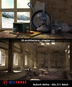 Student Work – 3D Architecture – Interior – by Mukesh Mehta of MSc.S11 batch  #3D #3DArchitecture #Interiordesign