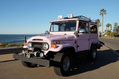 RARE Lavender 1971 Toyota Land Cruiser FJ 40 Landcruiser for sale: photos, technical specifications, description Chip Foose, Bmw Series, Audi Tt, Ford Gt, Toyota 4x4, Alfa Romeo Cars, Education Architecture, Volvo, Peugeot