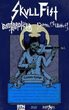 "Long Live The Loud 666: SKULLFIST,BASTARDIZER,PULVIS ET UMBRA ""EASTERN EUR..."
