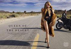 Marloes Horst - Harper's Bazaar Australia - Queen of the Desert