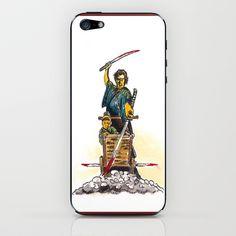 Shogun Assassin Baby Cart iPhone & iPod Skin by Christopher Chouinard - $15.00