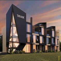 Hotel Design Architecture, Concept Models Architecture, Office Building Architecture, Home Building Design, Education Architecture, Modern Architecture House, Facade Architecture, Residential Architecture, Facade Design