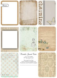 JournalCards-SweetlyScrapped.png 772×1,056ピクセル