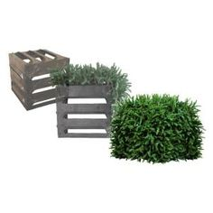 TRiCC utility cover 3 Sided With Top, Faux Evergreen Equipment Cover 36A at The Home Depot - Mobile