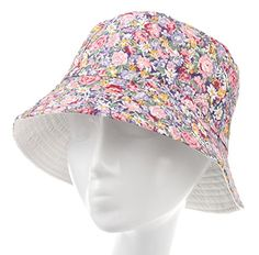 d0f6d5013f3 IL Caldo Ladies Summer Floral Cap Fishing Bucket Hat Foldable Travel Outdoor  Caps - Multi Colors · Jeans ...
