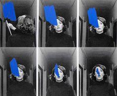 """© Helena Almeida. """"Estudo para um Enriquecimento Interior"""", 1977 http://sala17.wordpress.com/2010/01/11/helena-almeida-1934/"""