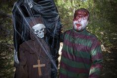 Calaveras y zombies ambientarán la visita a Sendaviva durante Halloween.