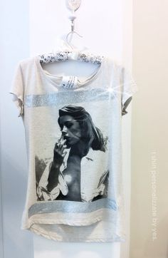 t shirt personalizzata by YES. boutique DONNA rc