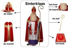 123 Lesidee - Th sint woord Biblical Costumes, St Nicholas Day, Saint Nicolas, Jolly Holiday, Felt Diy, Creative Kids, 4 Kids, Diy Projects To Try, Christmas Crafts