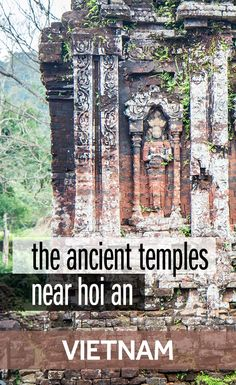 The ancient temple complex of My Son is one of the best things to do around Hoi An in Vietnam. My Son is an easy day trip from Hoi An and full of fascinating history. It's also one of Vietnam's World Heritage Sites.