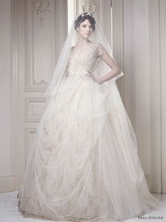 Love this dress!!! Ersa Atelier!  Wedding Dresses - ready to wear & couture bridal gowns, designer wedding dresses & other wedding fashion inspiration | Wedding Inspirasi