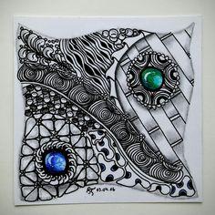 Eure Werke - Augenschokolade! | Freude mit Zentangle