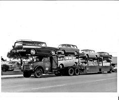 Dodge truck delivering Ramblers