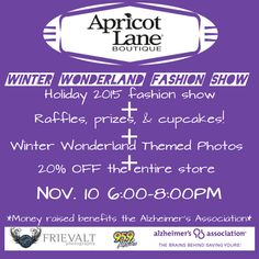 Don T Miss This Event At The Store Nov 10th 6 8pm Endalz