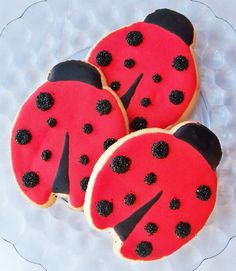 Lovely Lady Bugs by LindasEdibleArt on Etsy, $36.00