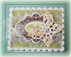 JRC #069 entry #2 - Beate Johns    Beate had me instantly with that lacy butterfly!
