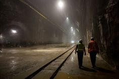 Geologists Glimpse a Heaven Below - NYTimes.com  The Long Island Rail Road's East Side Access Project, which was expected to be completed in 2009, will provide a subterranean link between Queens and Grand Central Terminal. Credit Demetrius Freeman/The New York Times