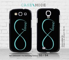 Samsung Galaxy S4 case Samsung Galaxy S3 case Infinity by CaseMode, $8.99 want right now immediately